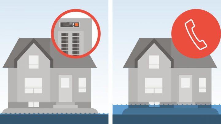 Inondations et sécurité électrique